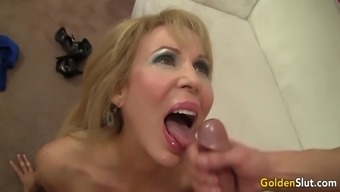 Age And Naughty Erica Lauren Delivers And Fucks A Younger Bloke