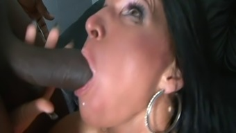 Milf Fucked By Bbc Facing Hubby