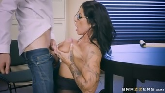 Substantial Breasted Mum Simone Garza Being Intimate With That Often Chips Equipment