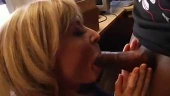 Nina Hartley Sucks And Strike Incline In The Office