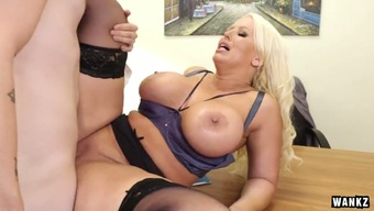 Curvaceous Female Boss Alura Jenson Fucked Within The Christian Missionary Pose Practical