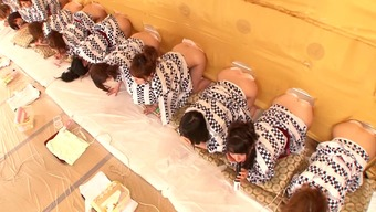 A Wild Japanese People Possibility Show With Several Sizzling, Naked Babes