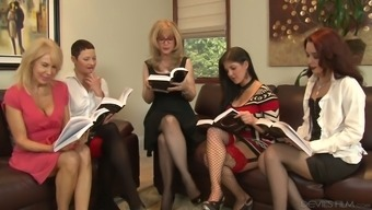 Nina Hartley Is One Bootylicious Age Ladies And She Or He Adores Lesbian Orgies