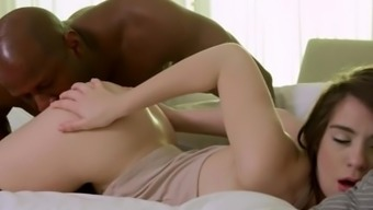 Naturally-Occuring Blonde Young Adult, Joseline Kelly, Can Be Considered An Anal Passage Machine For Large Black Prick