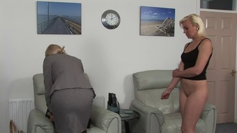 Blondes Date Spanked