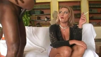 Horn-Mad Robust Subdue Stud Secures Skinny Tiny Hen Cycling His Bbc