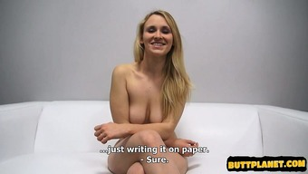 Hot Beginner Enlisting With The Use Of Cumshot