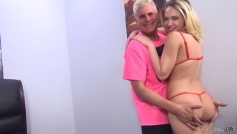 Pussy Nailing By Using Cumshot With Kagney Linn Karter And Porno Steve