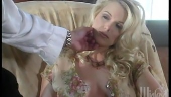 Gorgeous Blondes Possess An Magnificent Lesbian Threesome