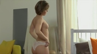 Tiny Czech Gorgeous Gets Her Height