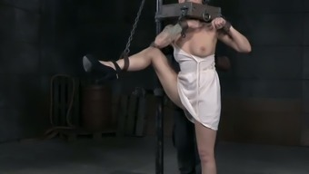 Abigail Dupree Has Got A Seriously Pierced Pussy And He Or She Adores Bdsm