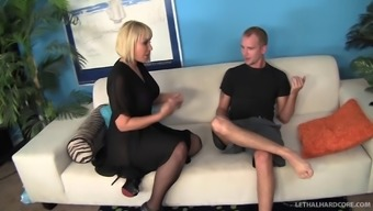 Super Arranged Tramp In Stockings Get Fucked Inside A Clammy Doggystyle Pose