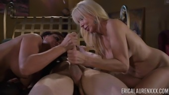 Foul Cock-Suckers Claudia Most Gorgeous And Erica Lauren Inside A Threeway