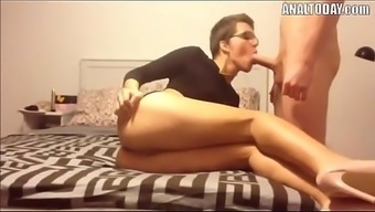Anus Sex By Using Small Haired Sexy German Girl